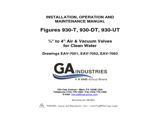 Figure 930-1 IOM 120220 (0-5-4in)