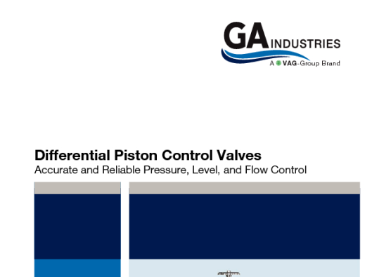 Piston Control Valves VAG27 LR